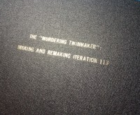 """""""The 'Murdering Twinmaker'"""" Is Murdering Your Trees"""