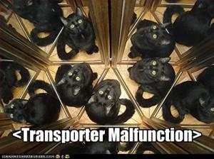 lolcat trasnporter malfunction