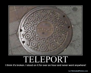 lol Broken Teleport
