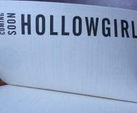 HOLLOWGIRL is now officially a thing